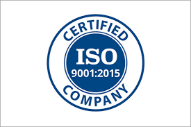 Hydrema ISO 9001:2015 certification