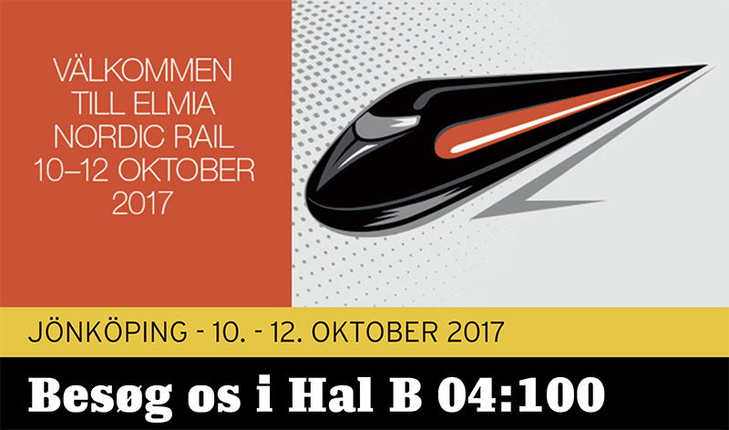 Hydrema - Nordic Rail 10-12 Oktober 2017